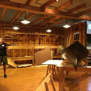 Canoe Maker is the Museum Display Wordless Wednesday