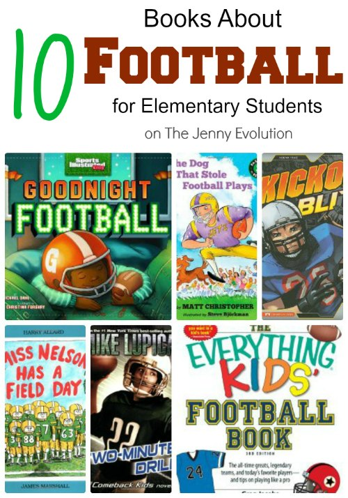 10 Books About Football for Elementary Students | Mommy Evolution