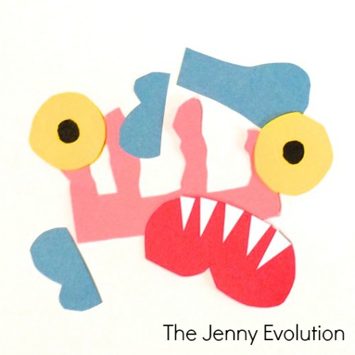 Go Away Big Green Monster Activity | The Jenny Evolution