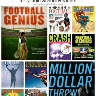 10 Chapter Books About Football for Middle School Readers