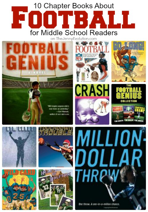 10 Chapter Books About Football for Middle School Readers | Mommy Evolution