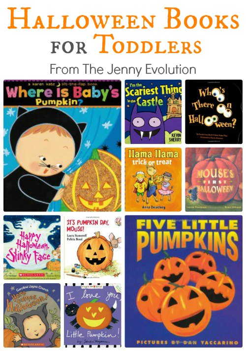 Best Halloween Books for Toddlers (Board Book Editions) | The Jenny Evolution