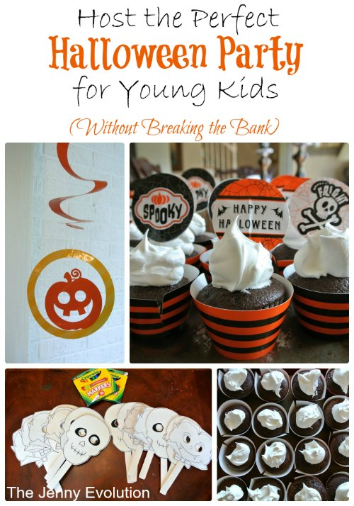 How to Host the Perfect Halloween Party For Young Kids Without Breaking the Bank | The Jenny Evolution