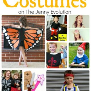 DIY Halloween Costumes for Kids - You can easily make these at home! | The Jenny Evolution