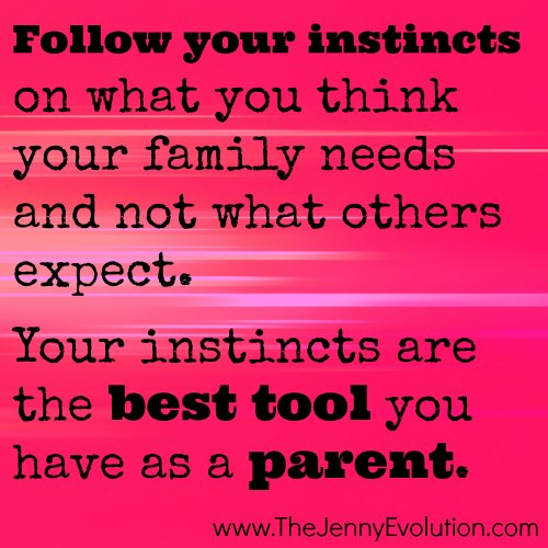 Listening to Your Instincts Will Never Steer You Wrong | The Jenny Evolution