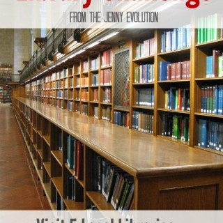 Join the Library Challenge from The Jenny Evolution