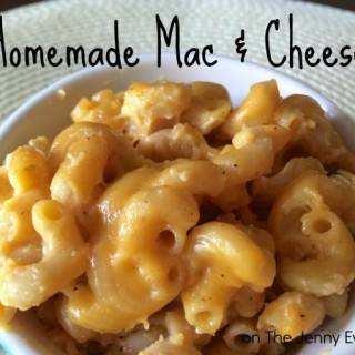 Yummy Gooey Homemade Mac and Cheese Recipe
