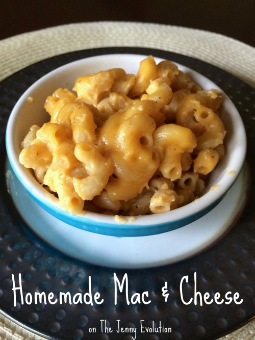 Yummy Homemade Mac & Cheese Recipe | The Jenny Evolution #recipe #macandcheese