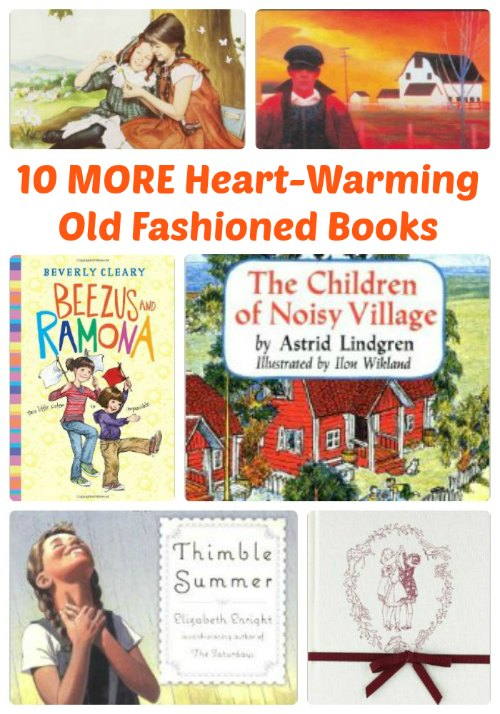 10 MORE Old-Fashioned Heart-Warming Books for Kids | Mommy Evolution