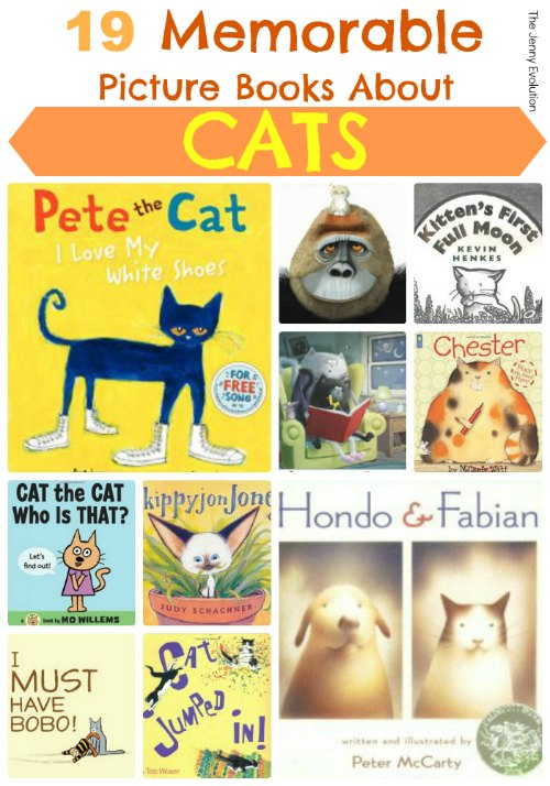 15 Memorable Picture Books about Cats | Mommy Evolution