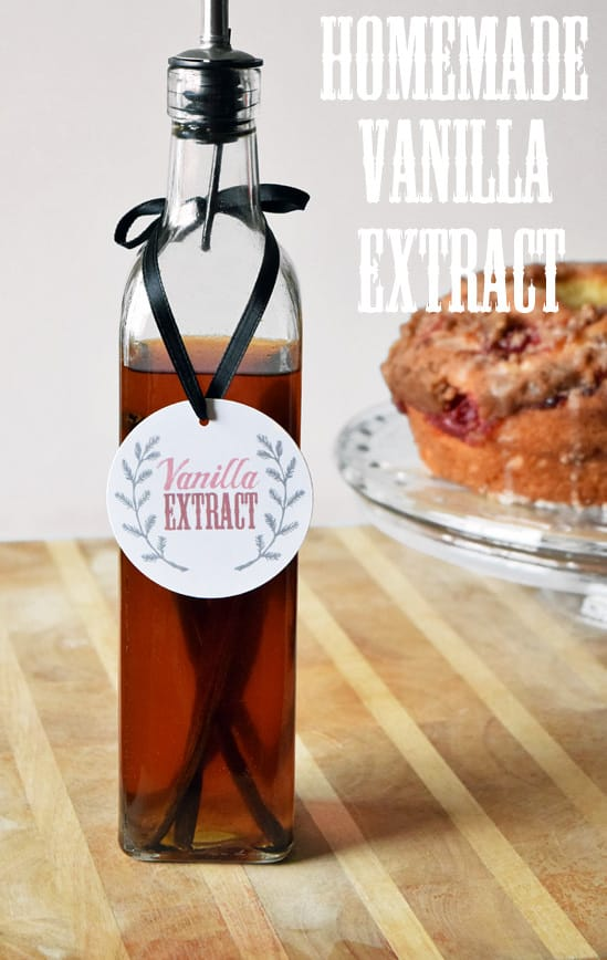 Make Your Own Vanilla Extract. What a great tutorial