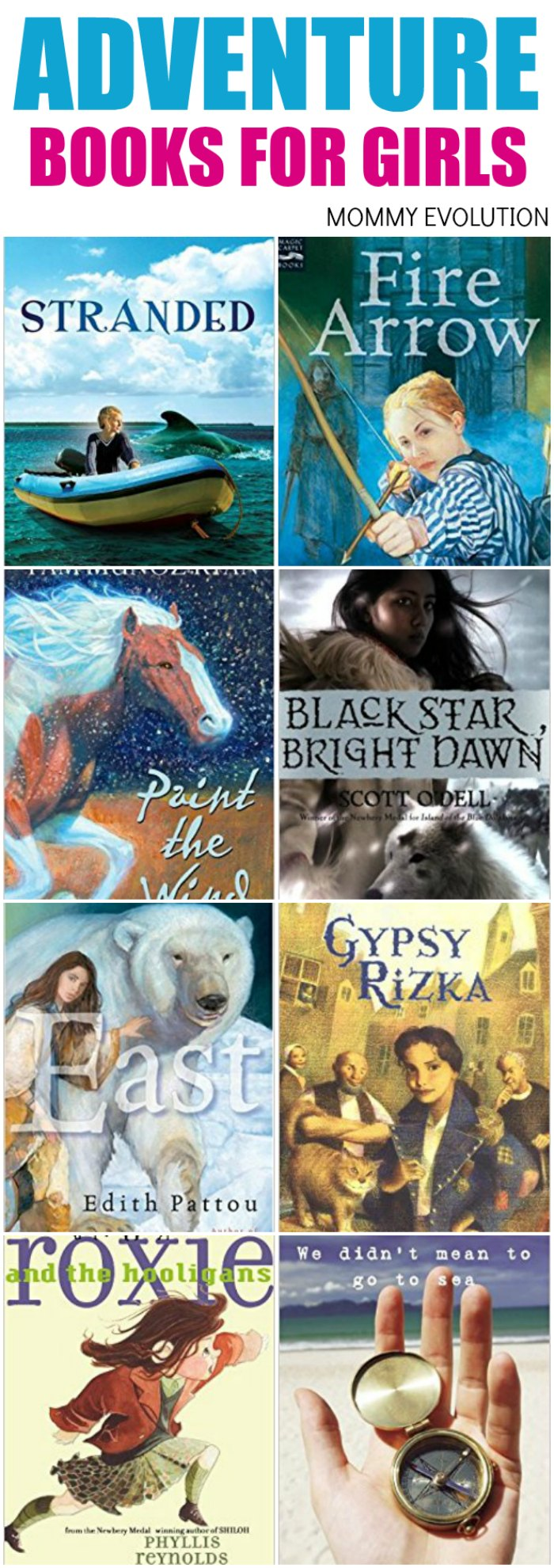 25 MORE Great Adventure Chapter Books for Girls | Mommy Evolution