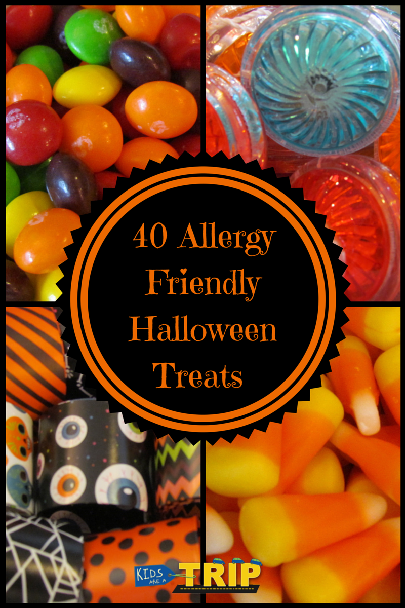 40 Allergy Friendly Halloween Treats from Kids Are a Trip