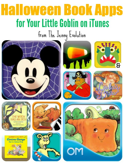 Halloween Book Apps on iTunes | Mommy Evolution