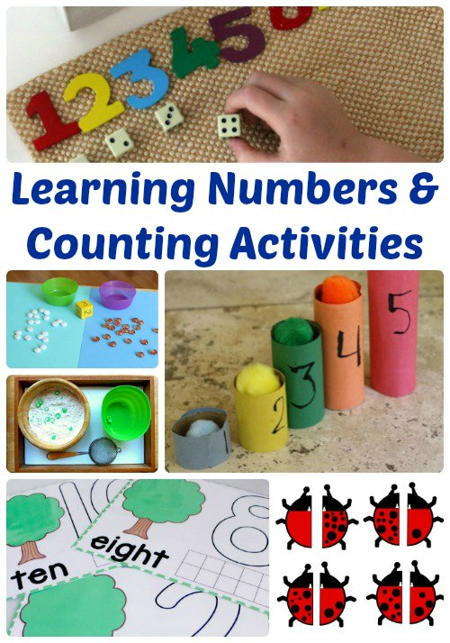 Learning Numbers and Counting Activities | Mommy Evolution