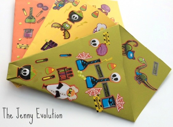 Halloween Candy Cones to Take Goodies Home from a party | The Jenny Evolution