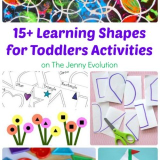 15+ Learning Shapes for Toddlers Activities | The Jenny Evolution
