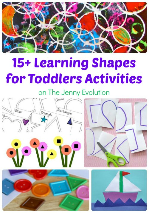 15+ Learning Shapes for Toddlers Activities | Mommy Evolution