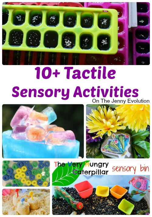10+ Tactile Sensory Activities | Mommy Evolution