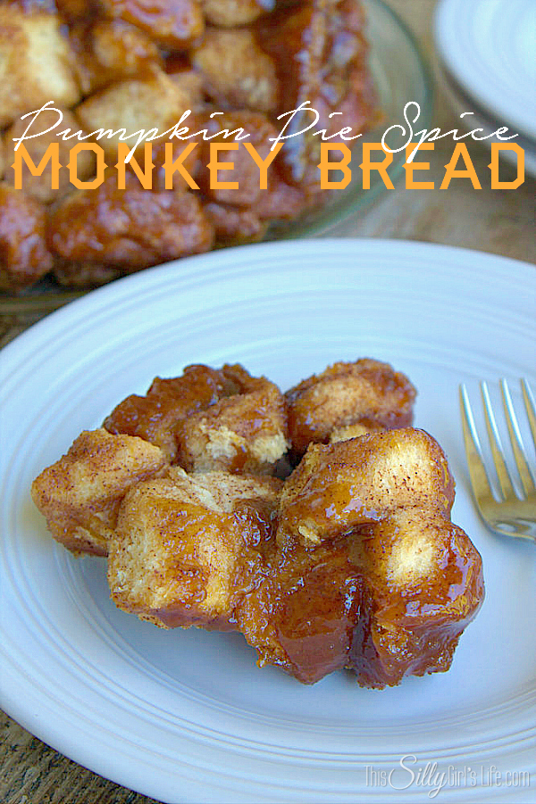 Pumpkin Pie Spice Monkey Bread Recipe from This Silly Girl's Life
