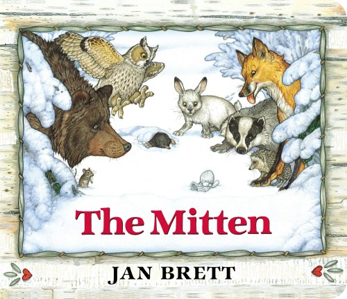 Jan Brett - The Mitten. Sew a Mitten Book Activity | Mommy Evolution