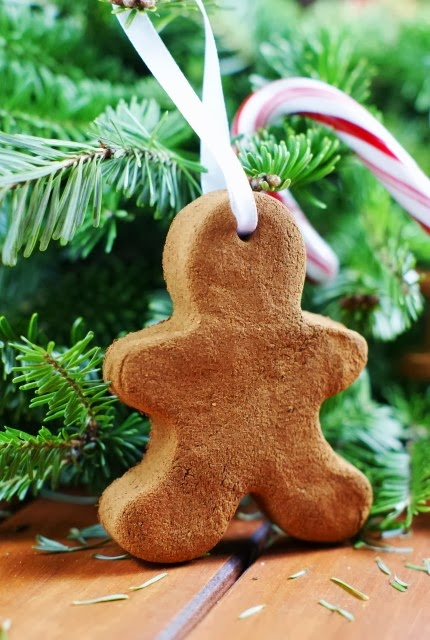 Easy 3-Ingredient Cinnamon Ornaments | The Kitchen Is My Playground