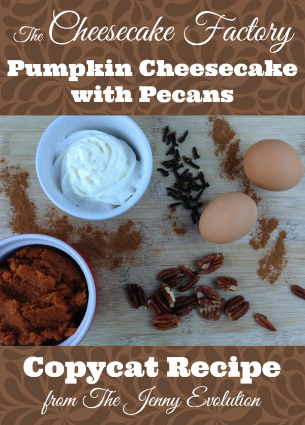 The Cheesecake Factory Pumpkin Cheesecake with Pecans Copycat Recipe | The Jenny Evolution