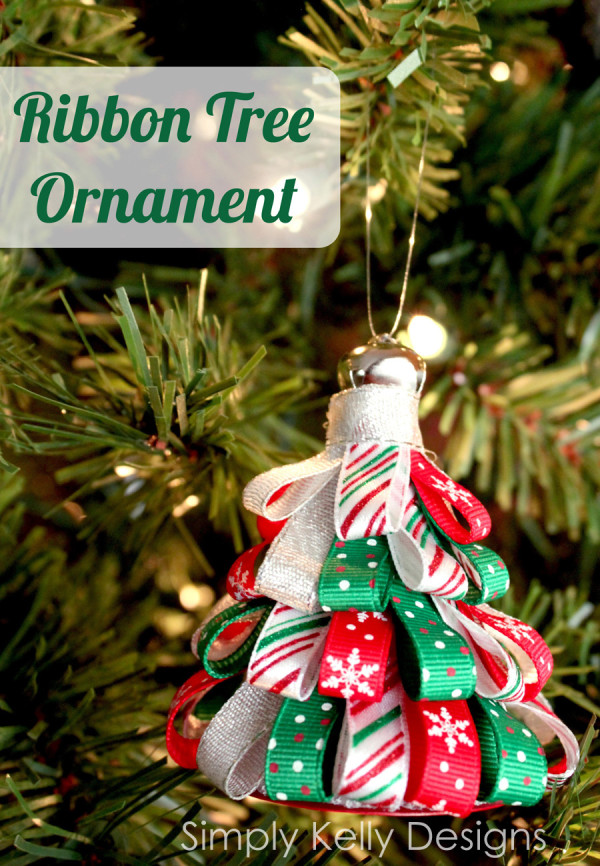 Ribbon Tree Ornament | Simply Kelly Designs