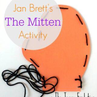 Jan Brett's The Mitten Book Activity   The Jenny Evolution