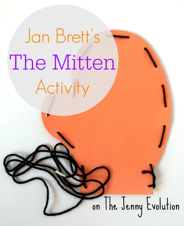 Jan Brett's The Mitten Book Activity | Mommy Evolution
