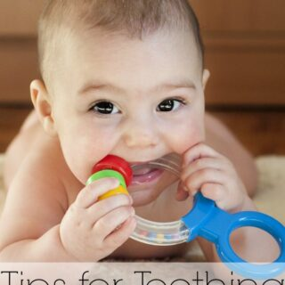 Tips for Teething for Baby and Mom