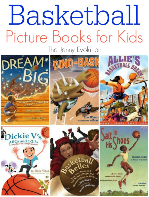 Picture Books About Basketball for Kids | Mommy Evolution