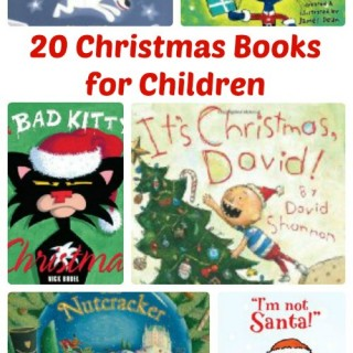 20 Christmas Holiday Picture Books to Treasure