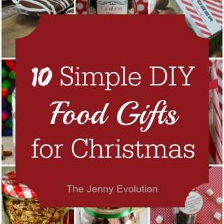 12 Easy DIY Food Gifts for Christmas