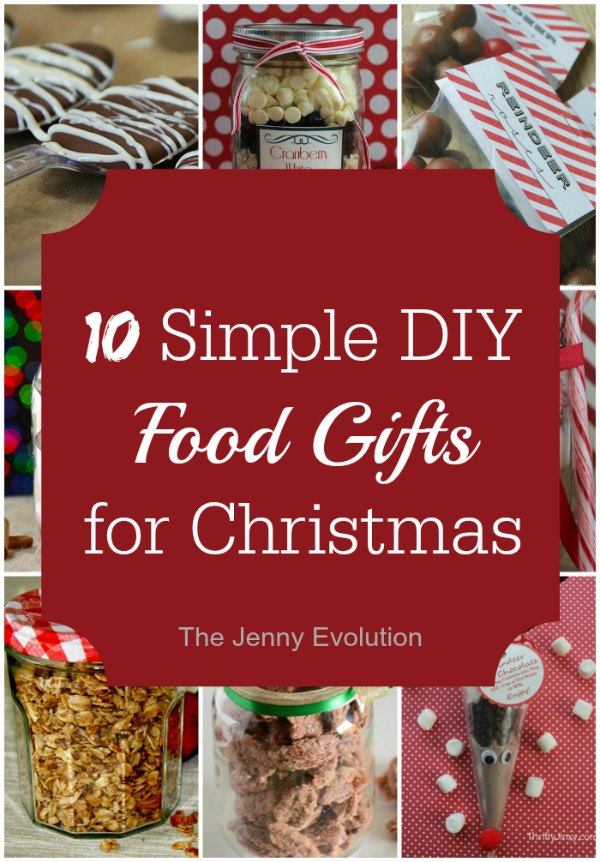 12 Easy DIY Food Gifts for Christmas | The Jenny Evolution