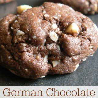 German Chocolate Cake Cookies Recipe