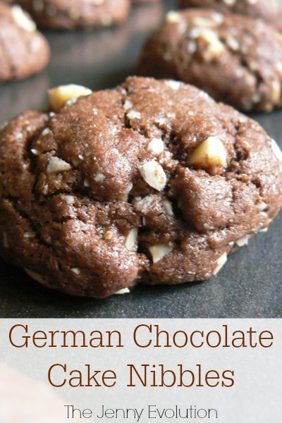 German Cake Chocolate Cookies Recipe | Mommy Evolution