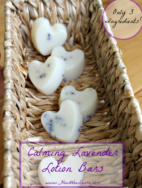 Calming Lavender Lotion Bar | How Wee Learn