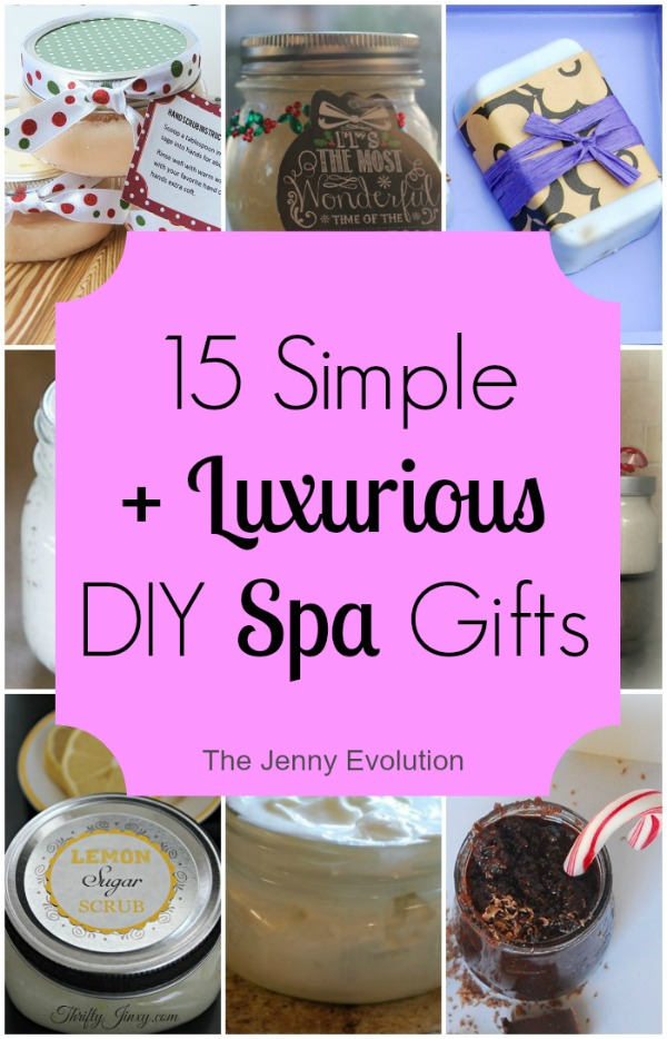DIY Spa Gifts by The Jenny Evolution