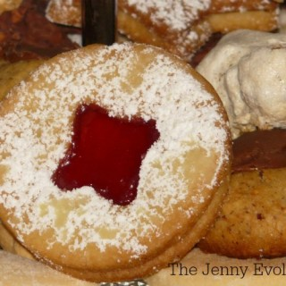 Sneak a Peek Cookies with Spiced Jam Recipe