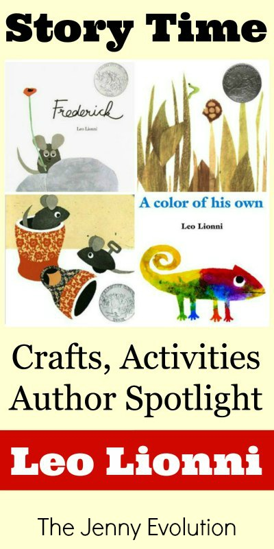 Leo Lionni Books: Author Spotlight, Crafts and Activities | Mommy Evolution