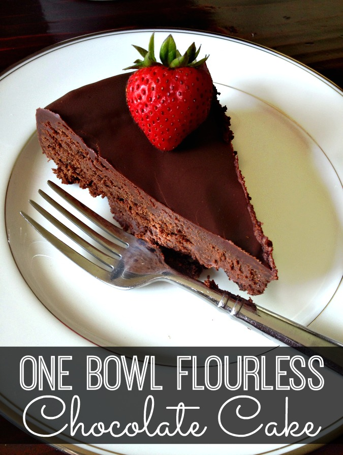 Flourless Chocolate Cake Real Simple