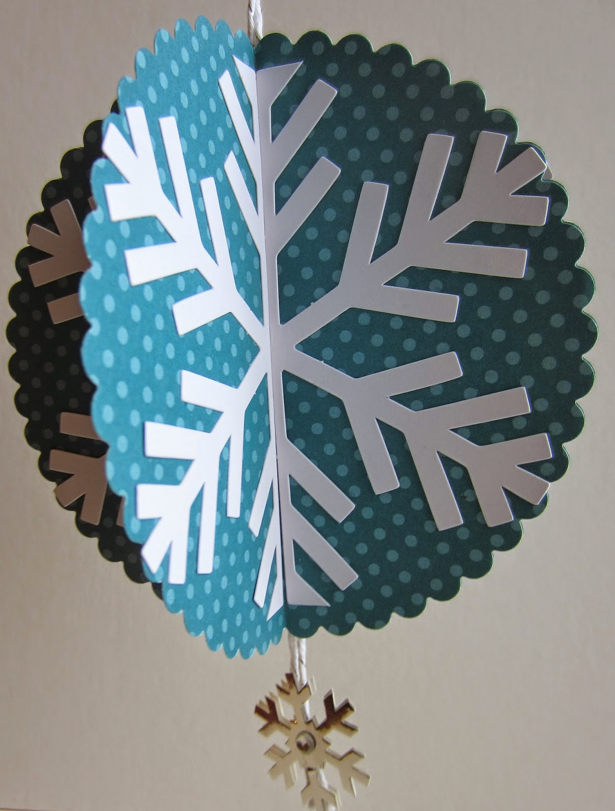 DIY Paper Snowflake Ornament Tutorial from Paper Seedling
