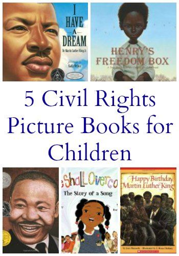 5 Civil Rights Books for Children | Mommy Evolution