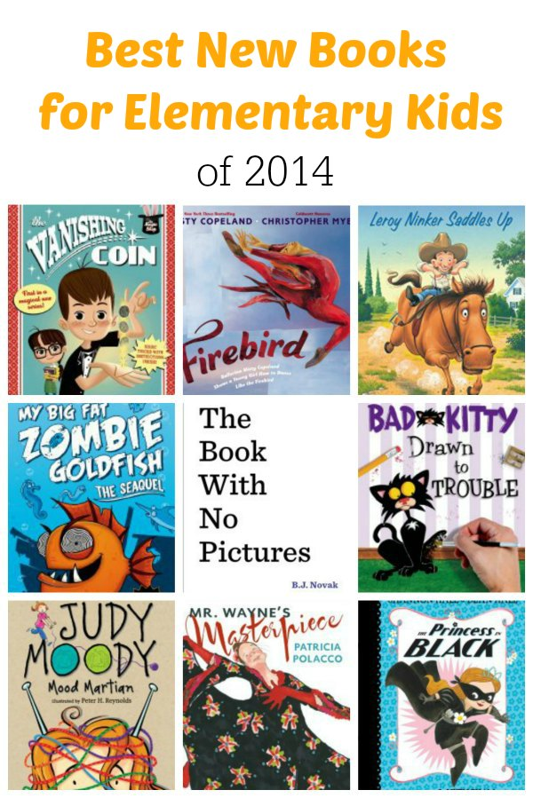 Best New Books for Elementary Students of 2014 | Mommy Evolution