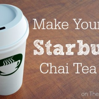 DIY Starbucks Chai Tea Latte Recipe