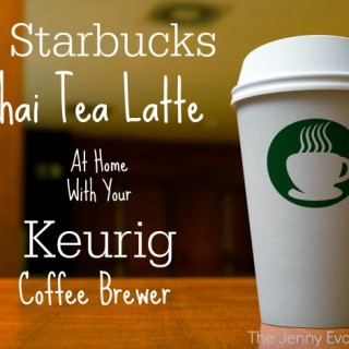 DIY Starbucks Tazo Chai Tea Latte with Your Keurig
