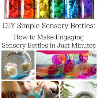 DIY Simple Sensory Bottles
