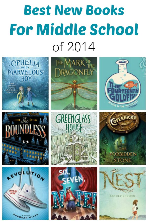 Best New Books for Middle School of 2014 | The Jenny Evolution