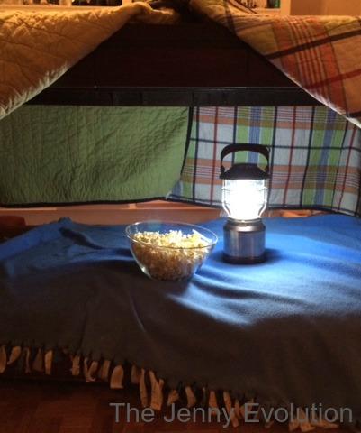 Secret to an Easy Blanket Fort | The Jenny Evolution